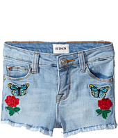 Hudson Kids - Flower Field Shorts in Faded Blue (Infant)