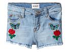 Hudson Kids - Flower Field Shorts in Faded Blue (Infant)