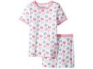 Trimfit - Organic Cotton Short Sleeve Dreamwear Pajama Set (Little Kids/Big Kids)