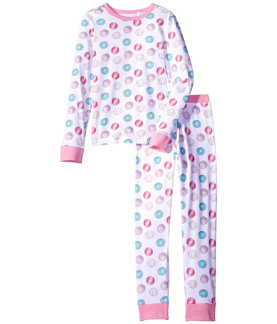 Trimfit - Organic Cotton Dreamwear Pajama Set (Little Kids/Big Kids) (Donuts) Girls Pajama Sets