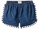 Hudson Kids - Pom Pom Shorts in Rinse (Big Kids)