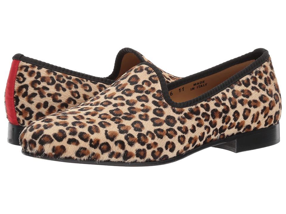 Del Toro - Prince Loafer (Leopard) Men's Slip on  Shoes