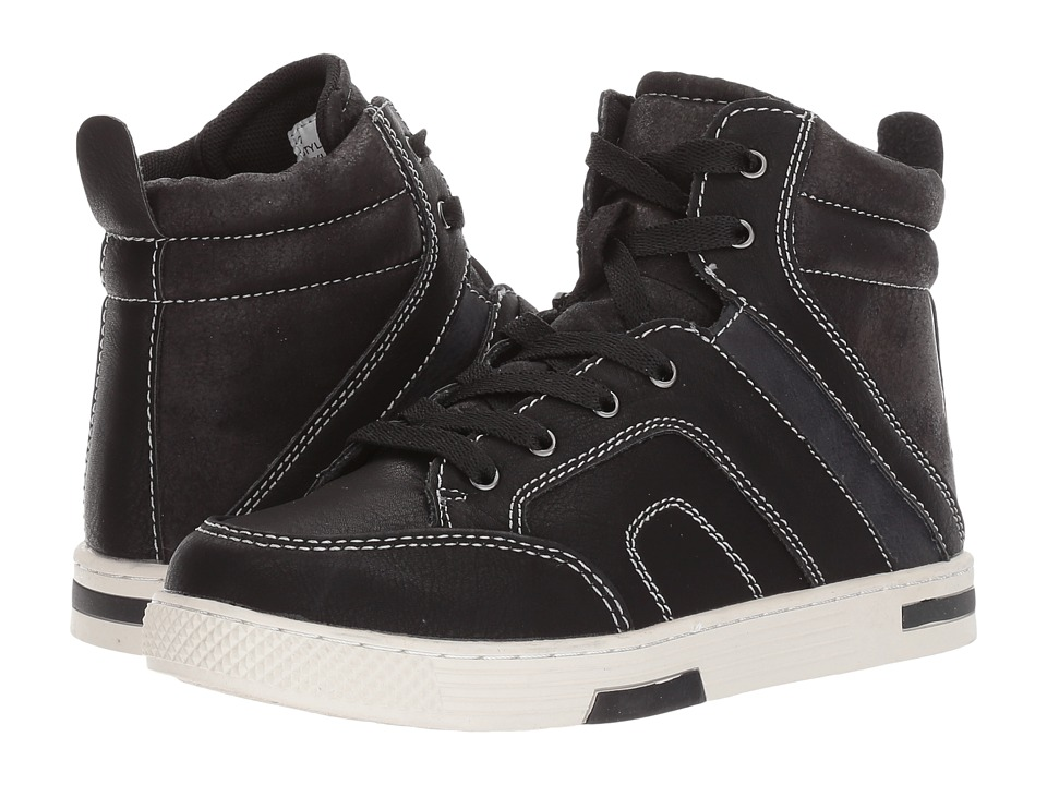 Steve Madden Kids Bcooler (Toddler/Little Kid/Big Kid) (Black) Boys Shoes