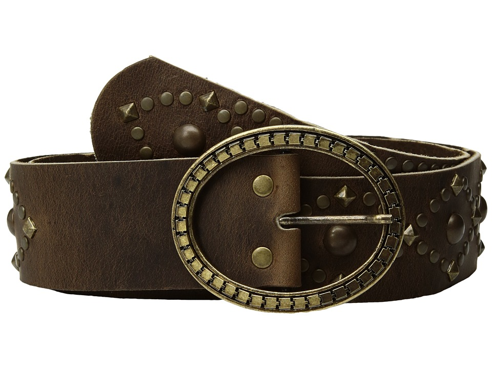 Leatherock 1717 (Roughman Brown) Women's Belts