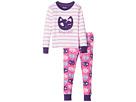 Hatley Kids - Feline Sleepy PJ Set (Toddler/Little Kids/Big Kids)