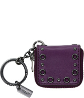 COACH - Studded Picture Frame Key Fob