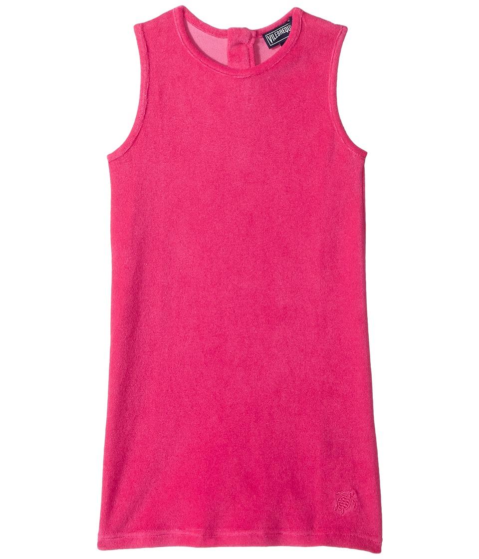 Vilebrequin Kids Terry Dress (Toddler/Little Kids/Big Kids) (Pink) Girl