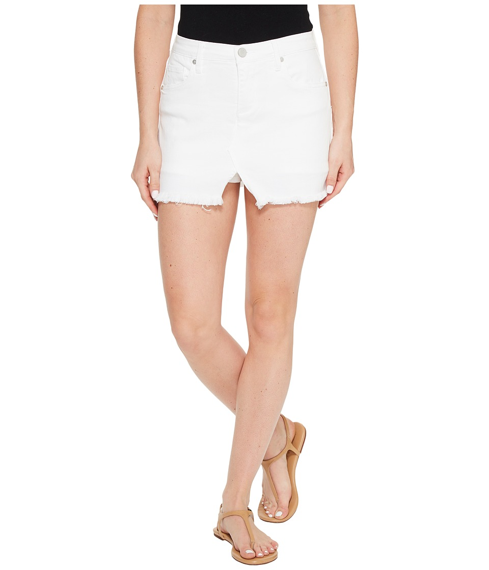 Blank NYC - Cut Off Mini Skort in White Lines