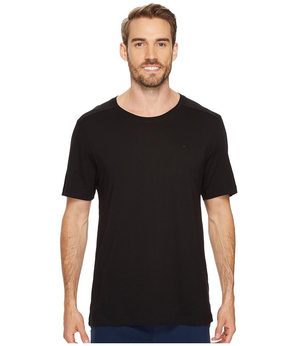 Tommy Bahama Crew Neck T-Shirt (Black) Men
