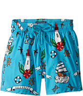 Vilebrequin Kids - Tattoo Sashimi Swim Trunk (Toddler/Little Kids/Big Kids)