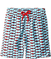 Vilebrequin Kids - Fishnet Swim Trunk (Big Kids)