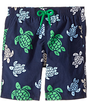 Vilebrequin Kids - Multicolor Turtle Swim Trunk (Big Kids)