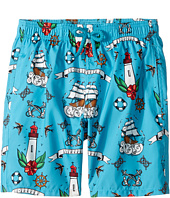 Vilebrequin Kids - Tattoo Sashimi Swim Trunk (Big Kids)