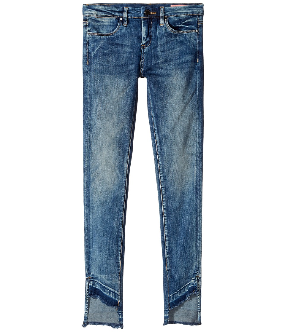 Blank NYC Kids - Denim Skinny with Bottom Detailing in Coffee Nap