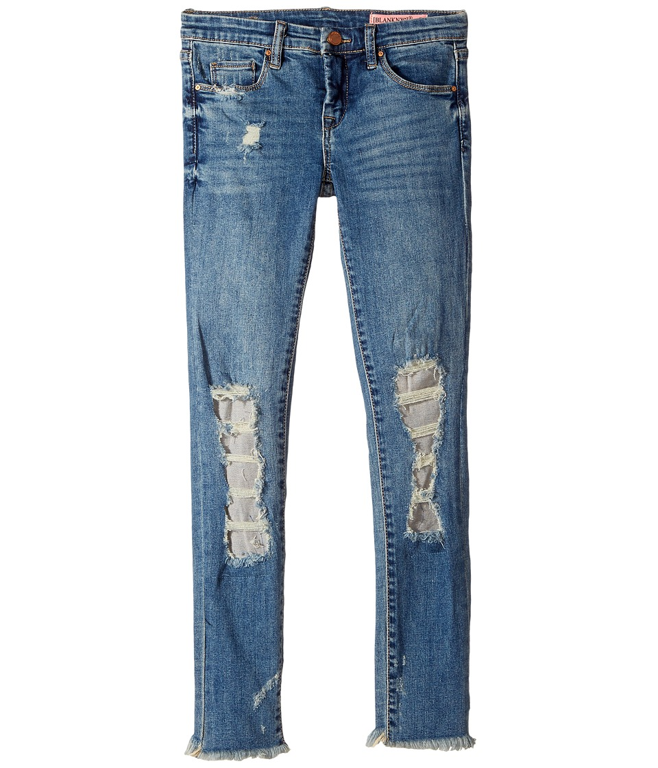 Blank NYC Kids - Denim Distressed Skinny in Full Smash