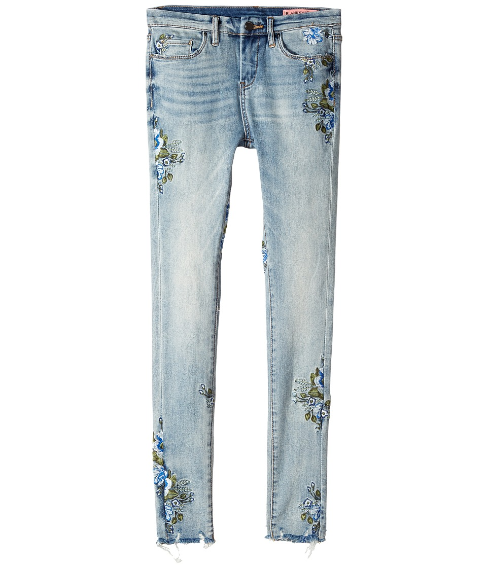 Blank NYC Kids Embroidered Denim Skinny in Back To Nature (Big Kids) (Back To Nature) Girl