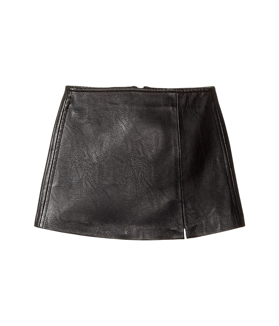 Blank NYC Kids - Black Vegan Leather Mini Skirt in Break The Ice