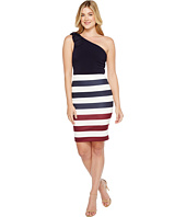 Ted Baker - Hilila Rowing Stripe One Shoulder Dress