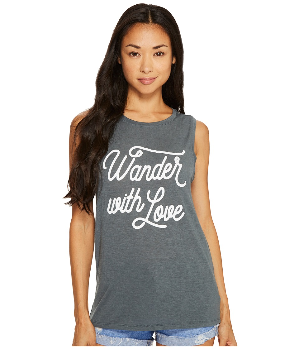 Spiritual Gangster - Wander with Love Chakra Tank Top
