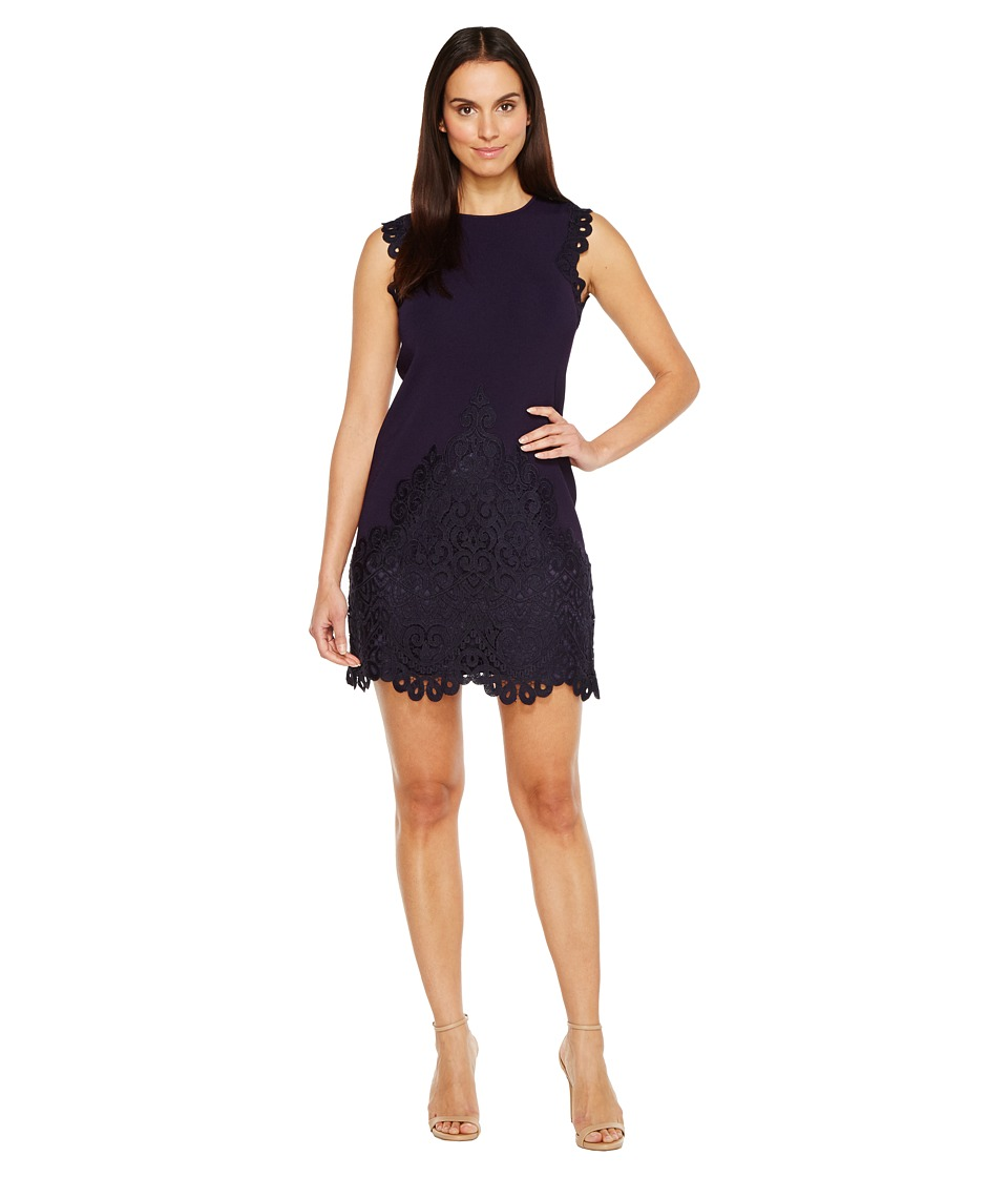 Ted Baker Luccia Woven Detailed Dress (Navy) Women