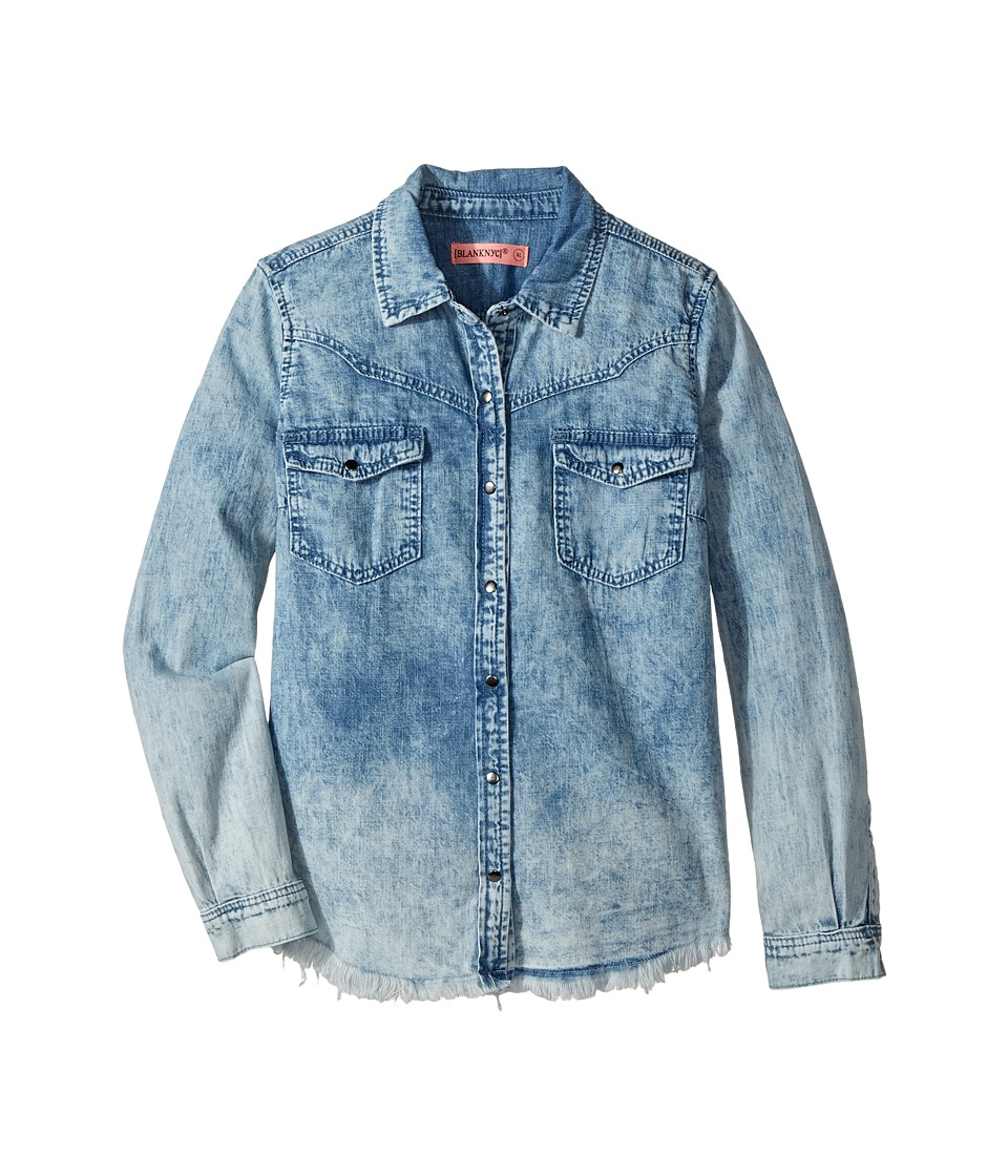 Blank NYC Kids - Denim Shirt in Acid Flashback