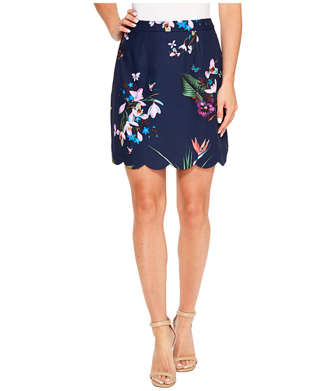 Ted Baker Staycee Tropical Oasis A-Line Mini Skirt