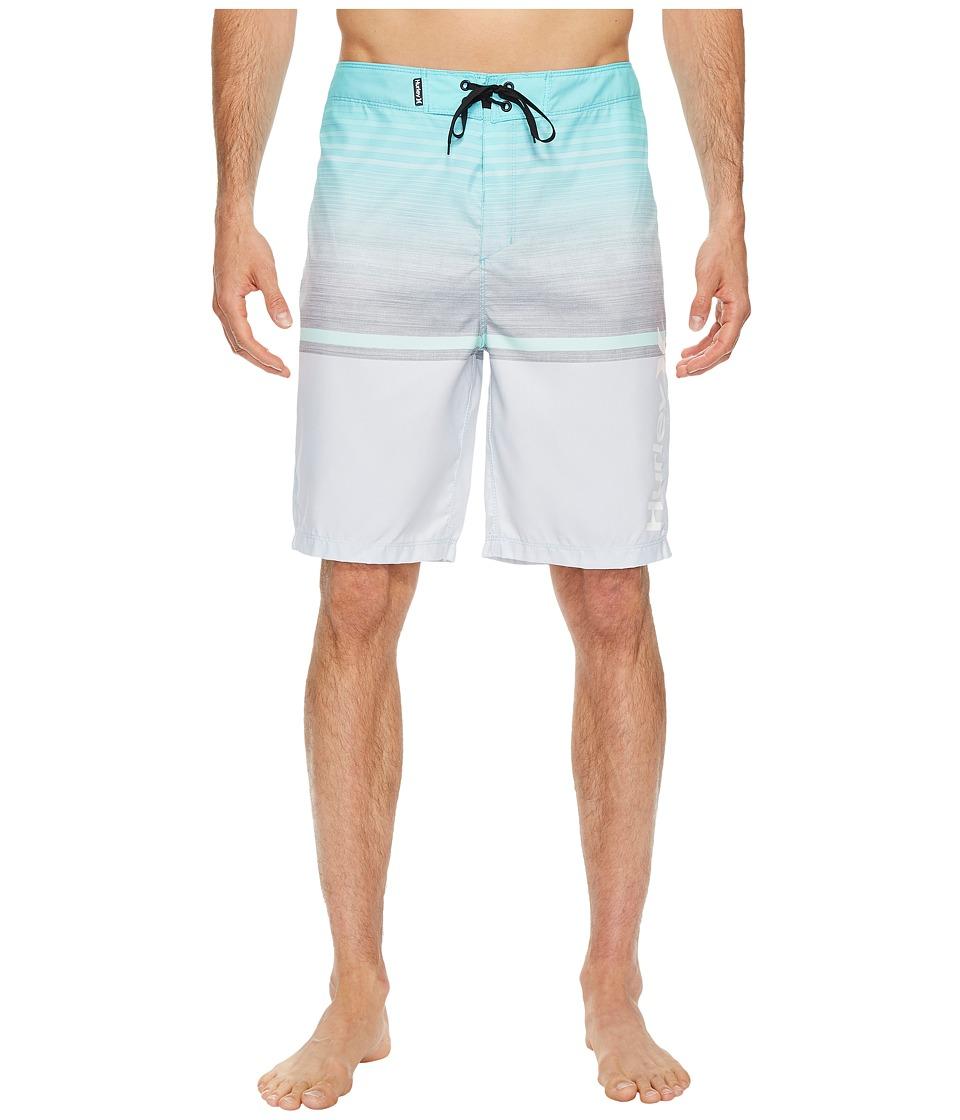 Hurley Rafters 21 Boardshorts (Light Aqua) Men
