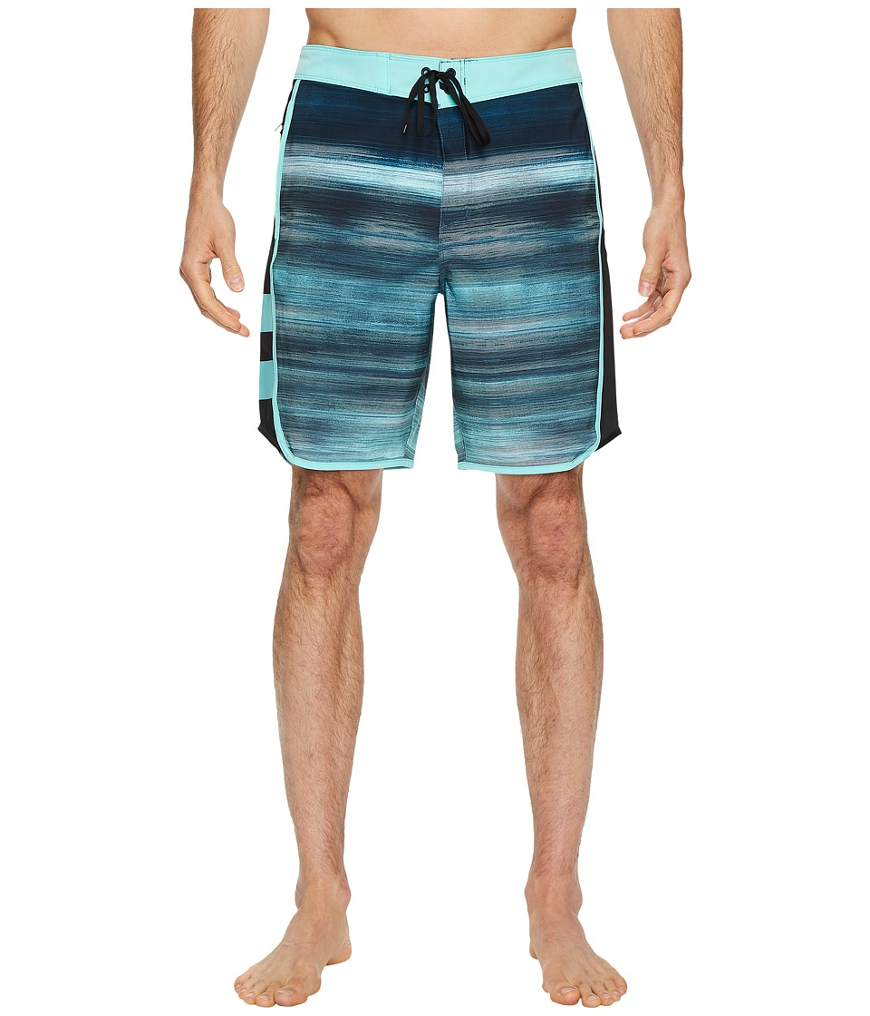 Hurley Phantom Motion Fast 18 Boardshorts (Aurora Green) Men