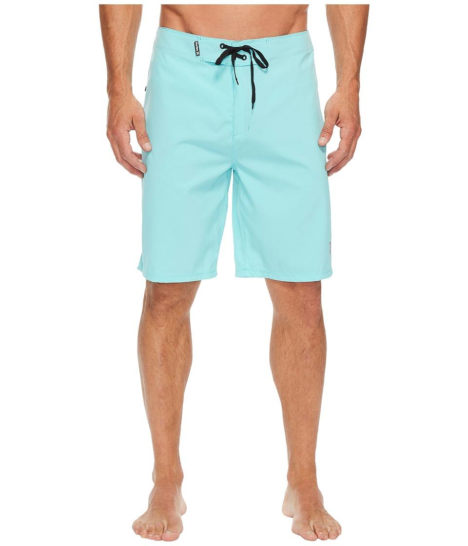 Hurley Phantom One and Only Boardshorts 20 (Light Aqua) Men