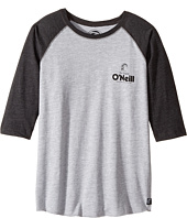 O'Neill Kids - Stick Up Raglan Long Sleeve Screen Tee (Big Kids)
