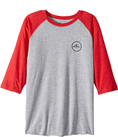O'Neill Kids - Wind Jammer Raglan Long Sleeve Screen Tee (Big Kids)