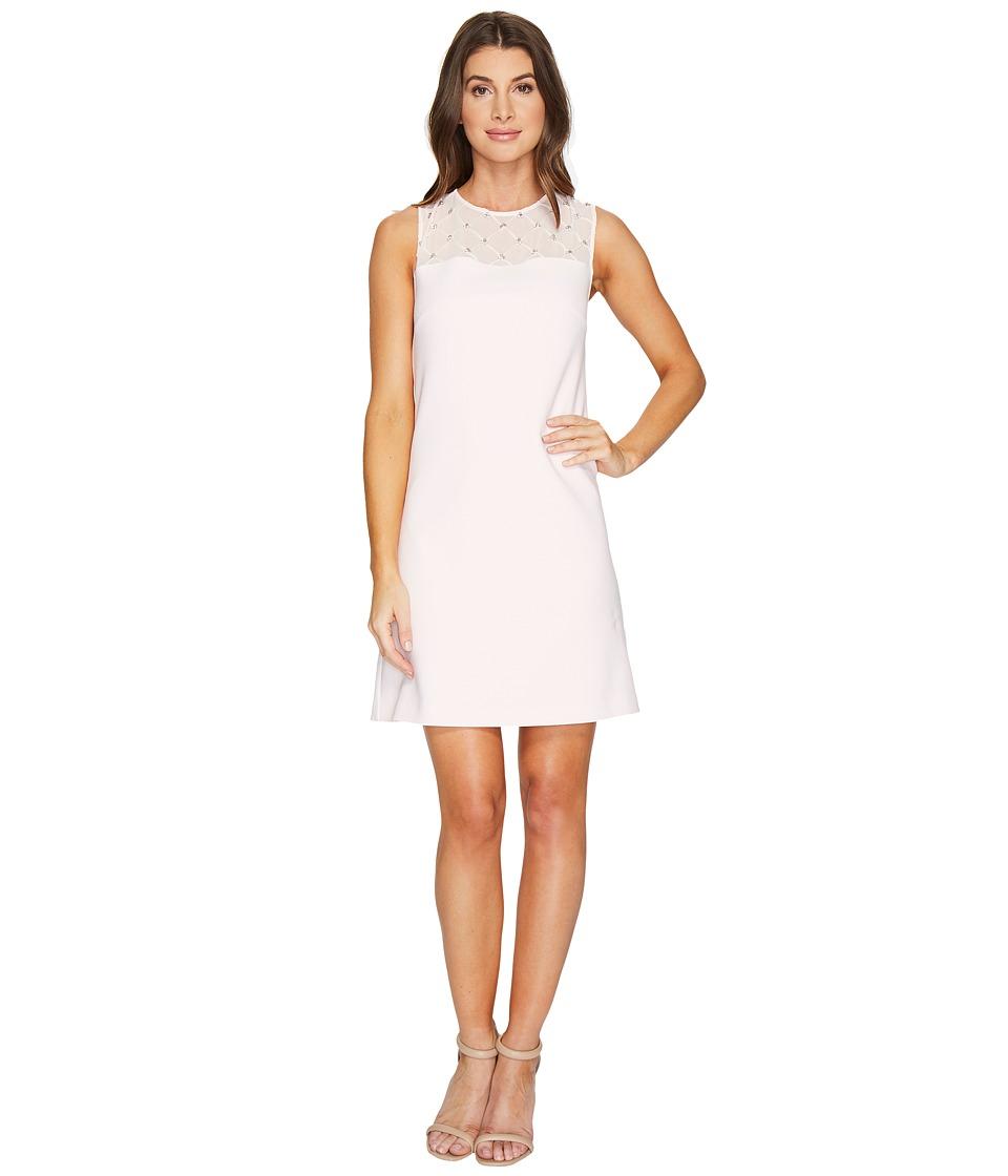 Ted Baker Danyel Embellished Shift Dress (Baby Pink) Women