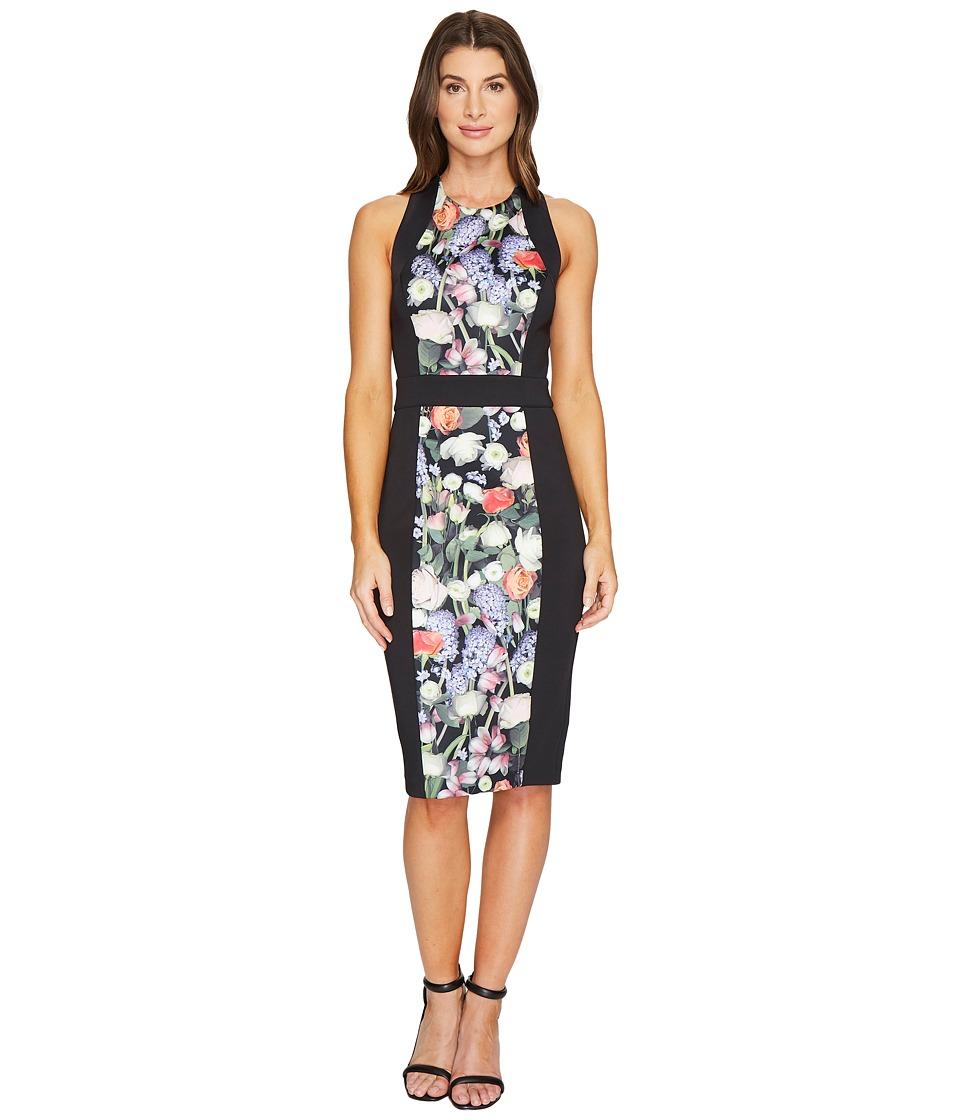 Ted Baker Akva Kensington Floral Bodycon Dress (Black) Women