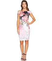 Ted Baker - Emly Painted Posie Off Shoulder Dress
