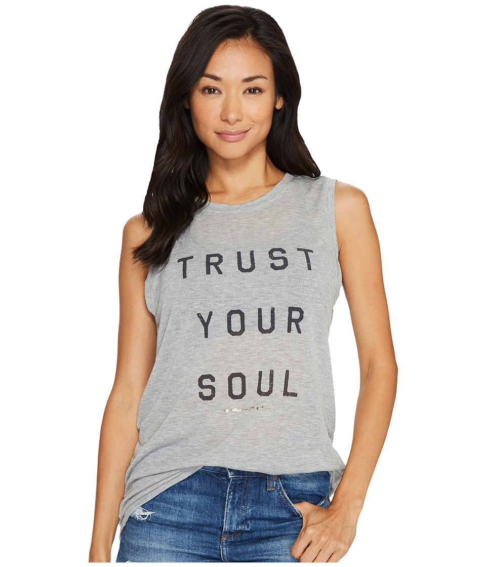 Spiritual Gangster - Trust Your Soul Chakra Tank Top