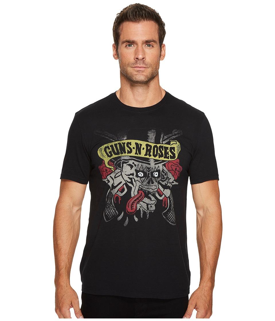 John Varvatos Star U.S.A. Guns N Roses Graphic Tee (Black) Men