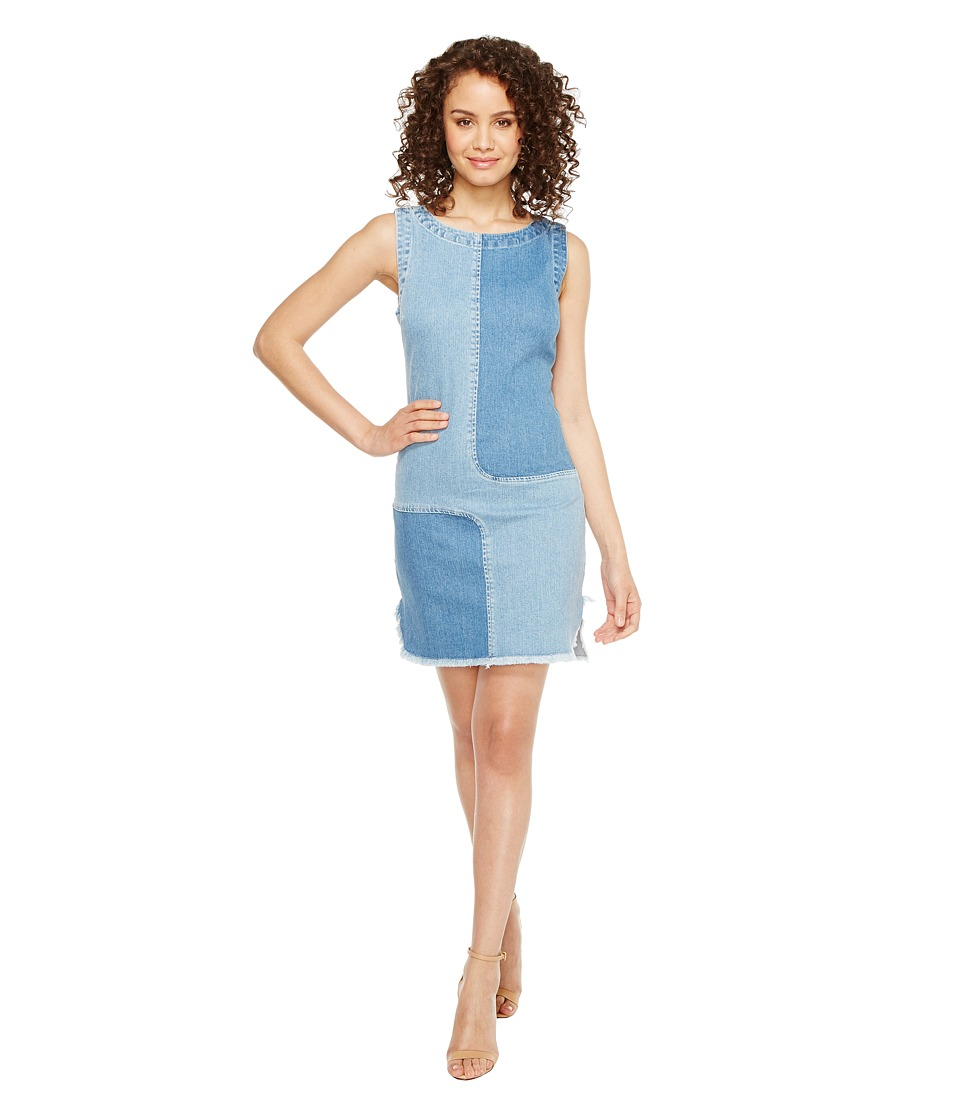 AG Adriano Goldschmied Indie Dress (Blue Mystery Patched) Women