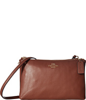 COACH - Leather Lyla Double Gusset Crossbody