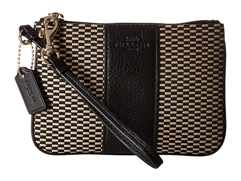6PM: Coach(蔻驰) Exploded Rep Small Wristlet女士手拿包, 原价$68, 现仅售$34.99