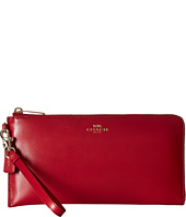 COACH - Darcy Leather Holdall Wallet