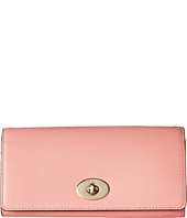 COACH - Crossgrain Leather Slim Chain Envelope