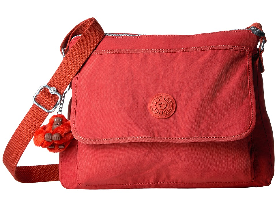 Kipling - Aisling Crossbody Bag (Red Rust) Handbags