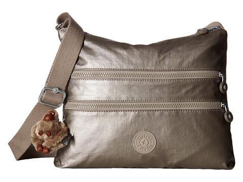 Kipling Alvar Crossbody Bag - Metallic Pewter