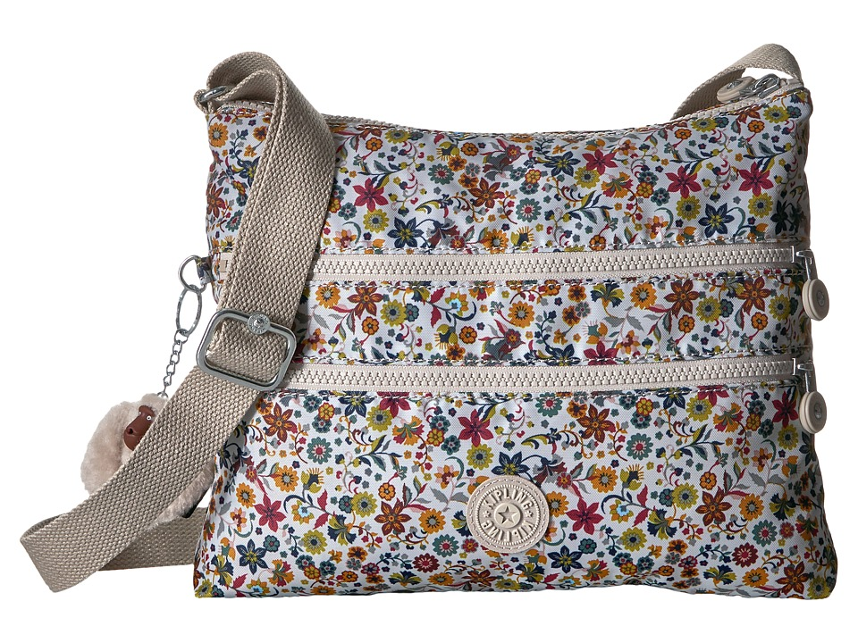 Kipling - Alvar Crossbody Bag (Chatty Daisies) Cross Body Handbags