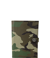 COACH - Camo Leather Bookcover