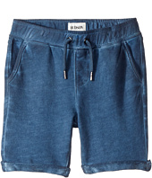 Hudson Kids - Pigment Dye Pull-On Shorts in Malibu Blue (Infant)