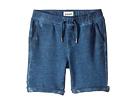 Hudson Kids - Pigment Dye Pull-On Shorts in Malibu Blue (Infant)