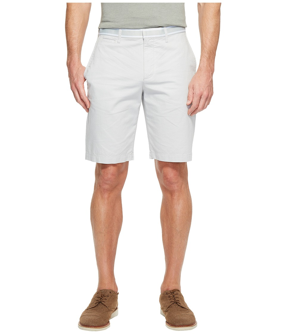 Original Penguin Cotton Oxford Shorts (Mirage Gray) Men
