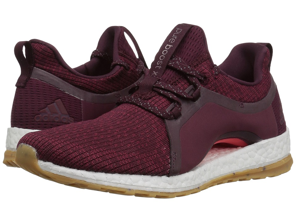 adidas Running Pureboost X ATR (Red Night/Mystery Ruby/Easy Coral) Women's Running Shoes