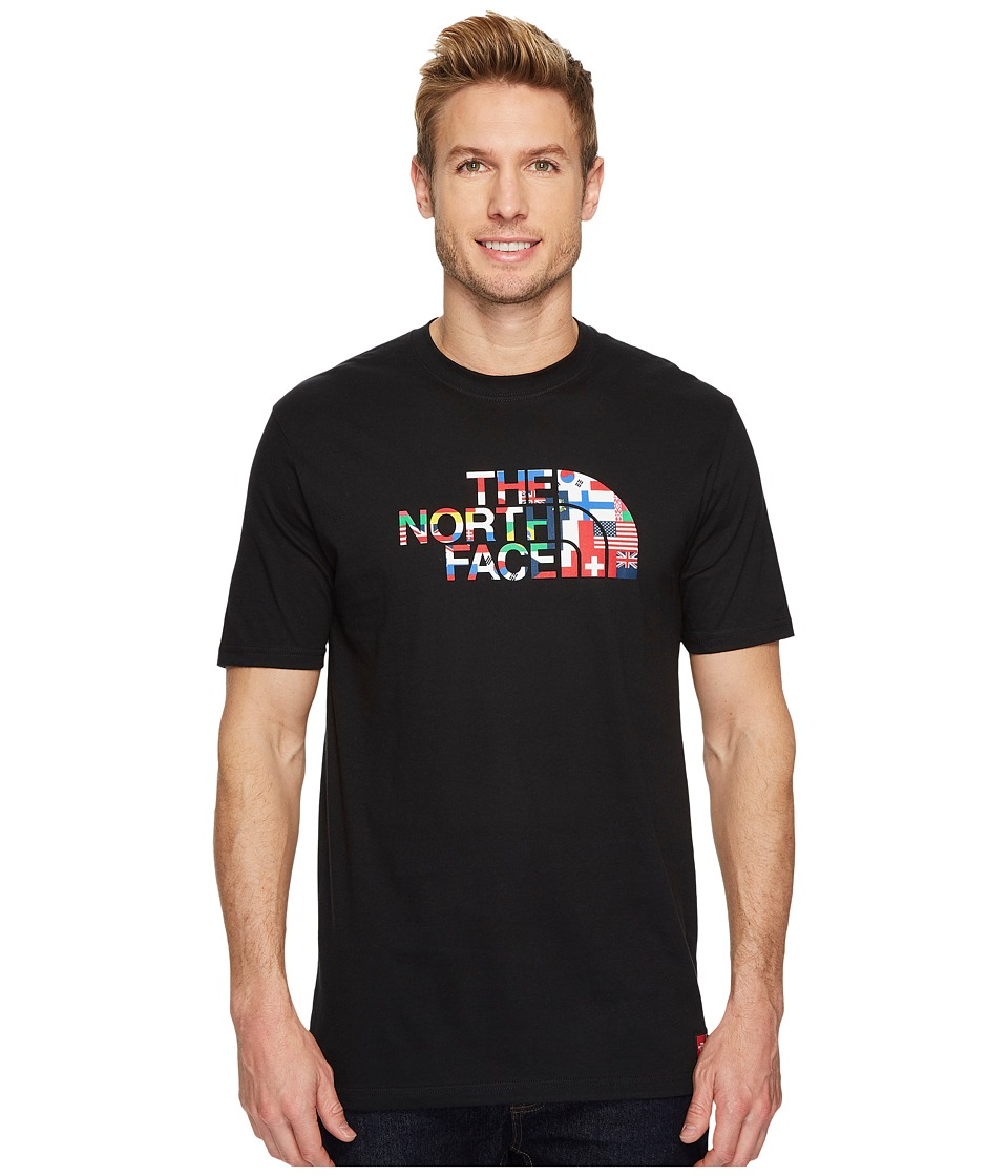 The North Face International Collection Short Sleeve Cotton Crew Top (TNF Black) Men